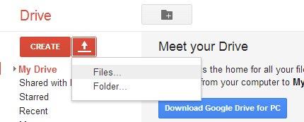 Google dökümanlar aracılığı ile resmi yazıya dönüştürme