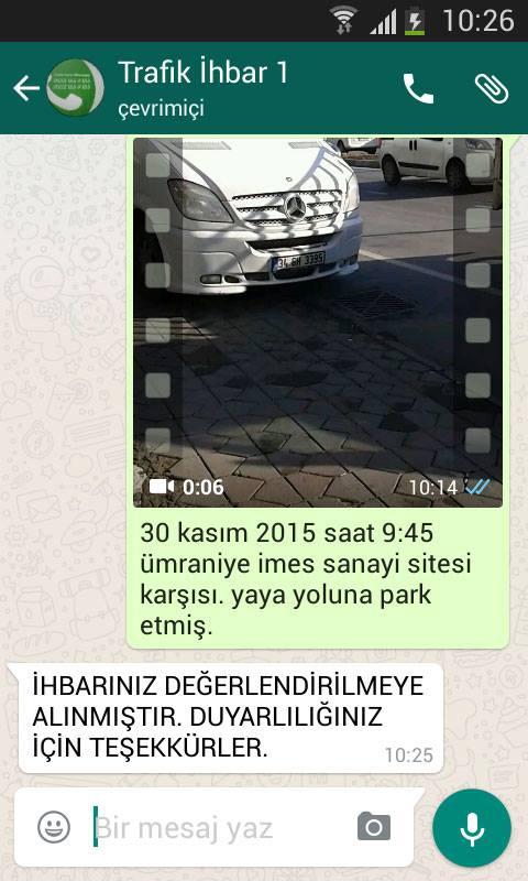 whatsapp-trafik-ihbar