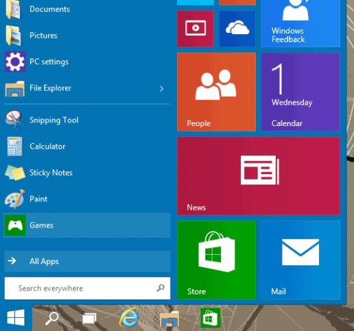 windows10-baslat