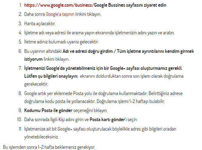 google-business-firma-ekleme