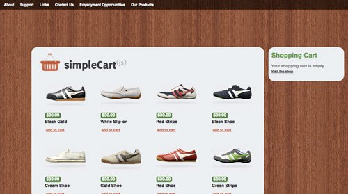simple cart 6 Free WordPress Shoping Cart Themes